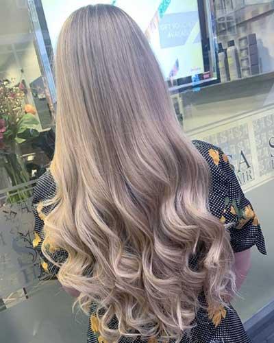 Shampoo Pin Curls