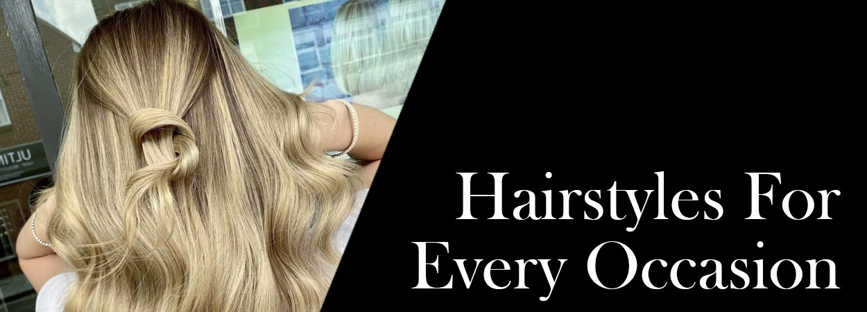 Hairstyles For Every Occasion banner